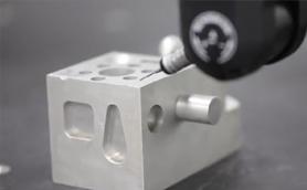 英国Renishaw PH20五轴测头测量视频