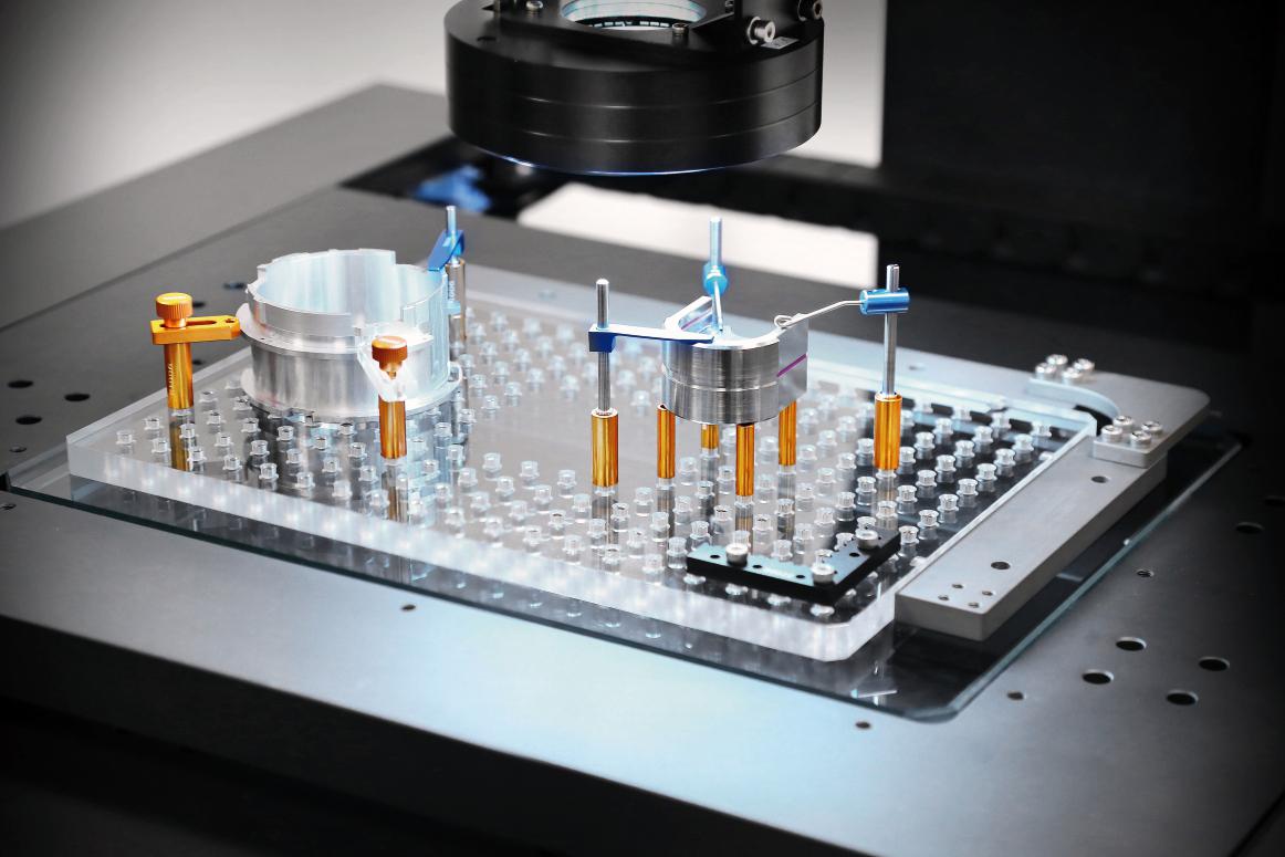 二次元影像测量仪夹具